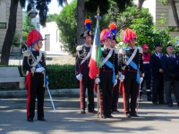 La bandiera dell'Arma dei carabinieri