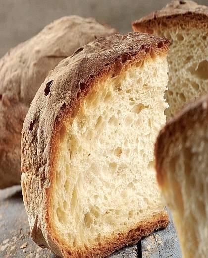 Il pane cotto lucano