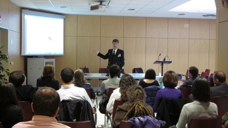 Conferenza CV Roberto Tomsi, Giornalismo aree di crisi di Giovanna Ranaldo