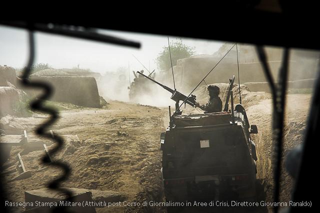 Afganistan, Mezzi Italiani in Movimento