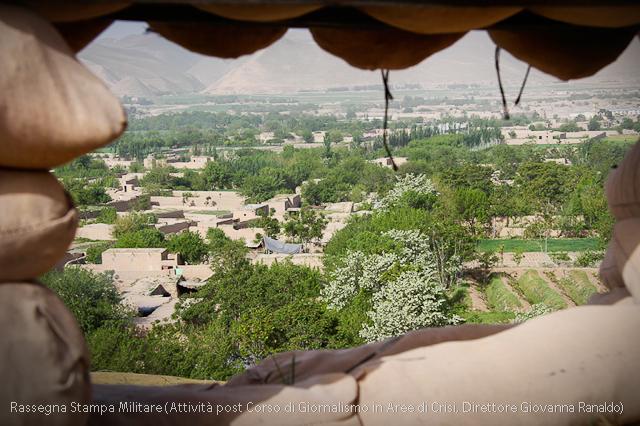 Afganistan, Una veduta da un caposaldo