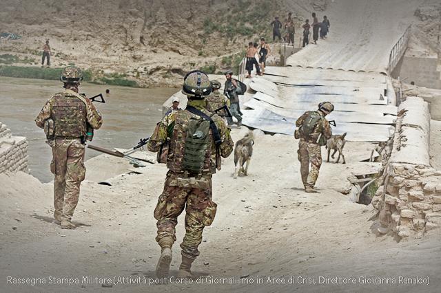 Afganistan, Messa in sicurezza di nuovi territori, in foto truppe Italiane