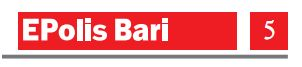 Epolis Bari, pag. 5 del 5 maggio 2011