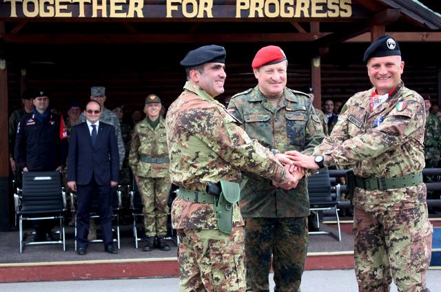 """Cambio di Vertice in Kosovo al """"Villaggio Italia"""""""