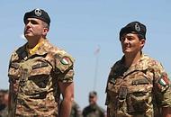 I militari del 21° reggimento «Trieste» di Foggia