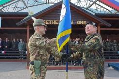 Kosovo/ Villaggio Italia, cambio del Comandante