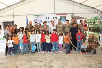 KFOR/ COI. Gli aiuti italiani alle popolazioni