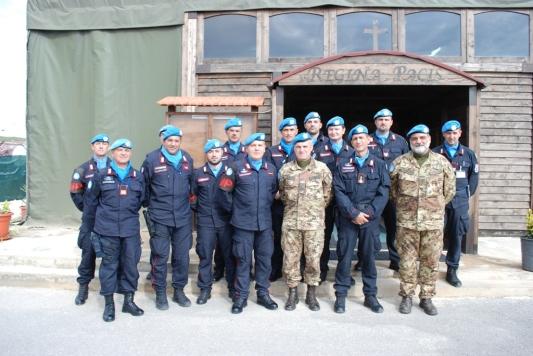 personale dei carabinieri impegniati in Libano