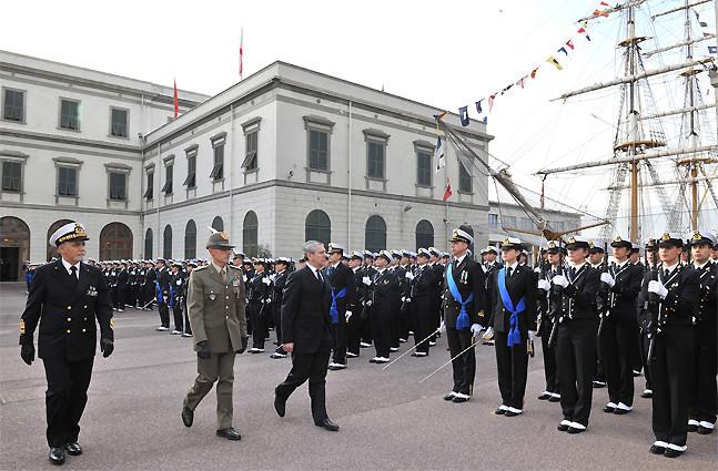 Marina Militare/ Accademia Navale di Livorno. Il giuramento di donne e uomini