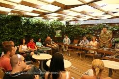 Kosovo/ Foto. Incontro con gli studenti dell'Università di Pristina