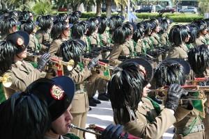 Fanfara del 7° Reggimento Bersaglieri (Archivio 2009) Foto di Antonio Conte