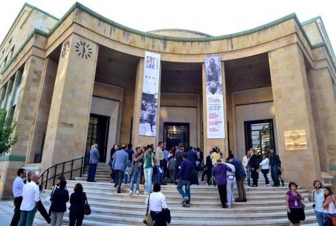 Il Palazzo delle Poste ora adibito a uso didattico universitario