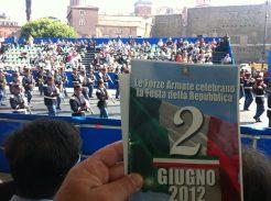Massimiliano Ciaffi - 2 giugno 2012, Parata Militare