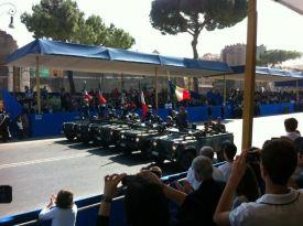 Massimiliano Ciaffi - Sfilata delle bandiere di combattimento di tutte le Armi