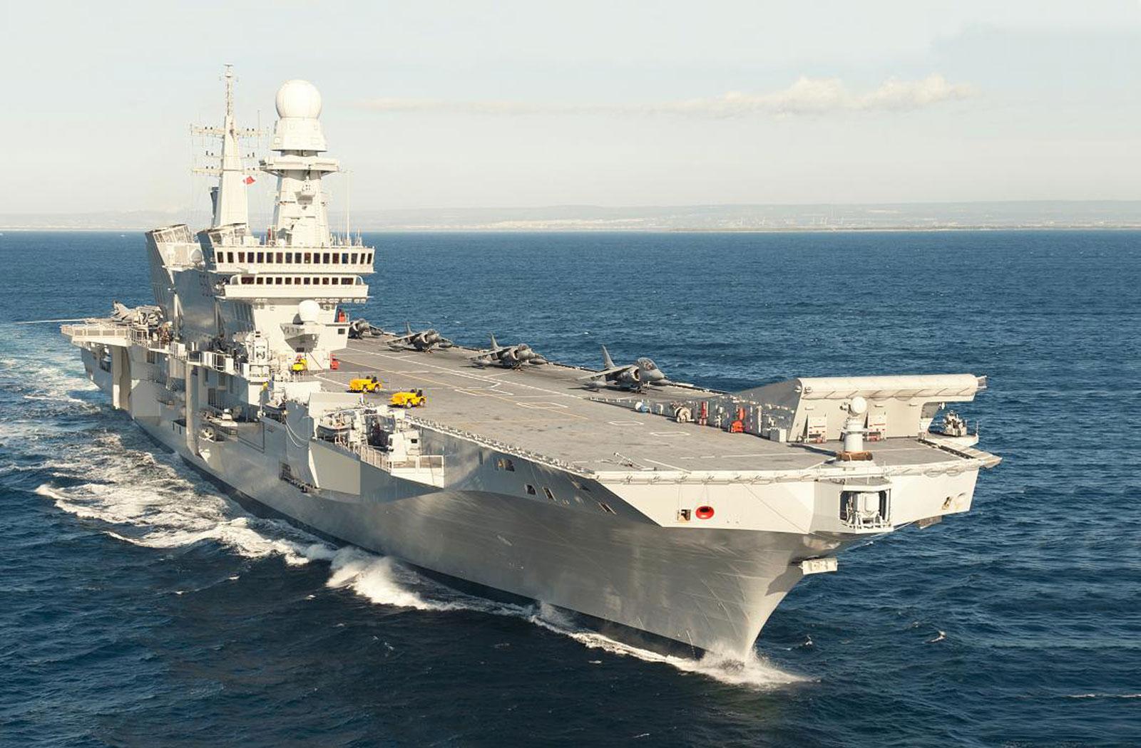 Nave cavour carrier qualification la componente aerea in - Nuova portaerei ...