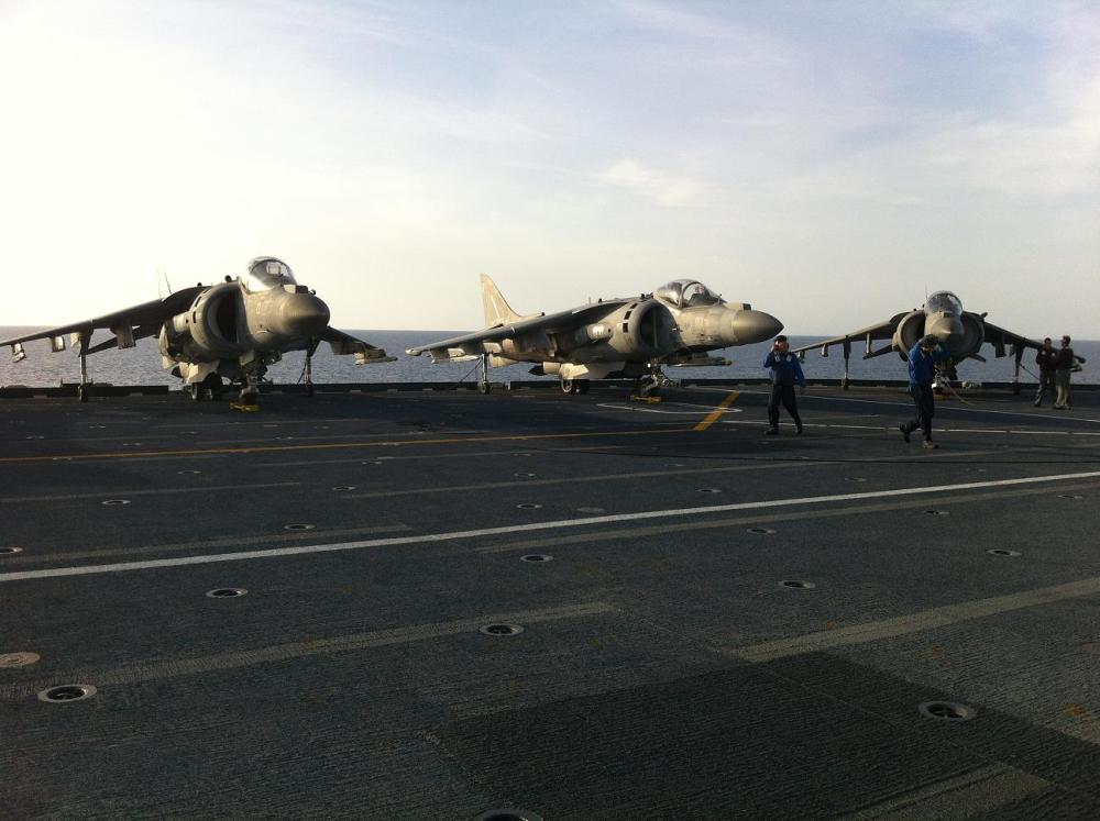Nave Cavour/ Carrier Qualification. La componente aerea in addestramento (2/2)