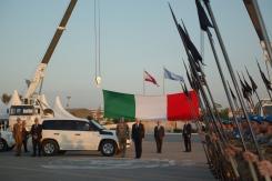 Il sottosegretario De Mistura in visita ai soldati italiano