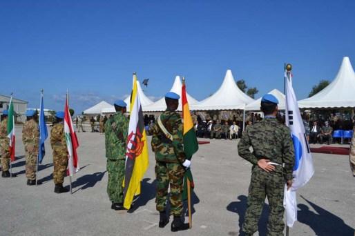 Il contingente multinazionale è composto da militari provenienti da Ghana, Corea del sud, Malesia, Irlanda, Finlandia, Slovenia e Brunei - Foto di Fabia Martina