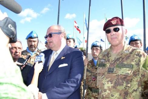 Sottosegretario alla Difesa, Gianluigi Magri (foto d'apertura) - Foto di Fabia Martina