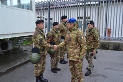 Foto 3 - Il Comandante del 1° Comando delle Forze di Difesa, Generale Danilo Errico, in visita al Centro di Identificazione ed Espulsione (CIE) di Gradisca d'Isonzo