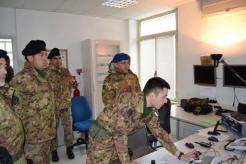 Foto 4 - Il Comandante del 1° Comando delle Forze di Difesa, Generale Danilo Errico, in visita al Centro di Identificazione ed Espulsione (CIE) di Gradisca d'Isonzo