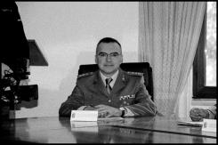 """Il PI del CME """"Puglia"""". Ten. Col. Vincenzo Legrottaglie. Foto di Antonio Conte"""