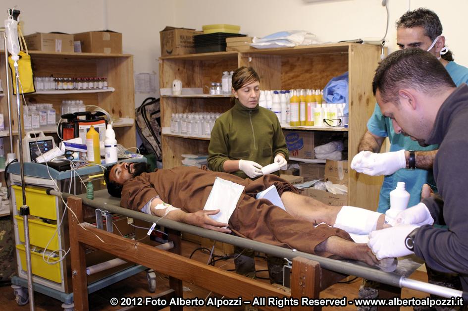 Afghanistan/ Intervento medico d'urgenza e ferite d'arma da fuoco (5/6)