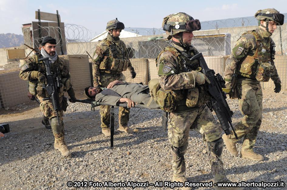 Afghanistan/ Intervento medico d'urgenza e ferite d'arma da fuoco (2/6)