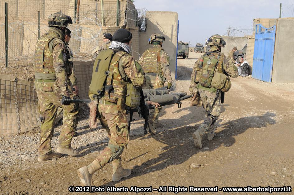 Afghanistan/ Intervento medico d'urgenza e ferite d'arma da fuoco (3/6)