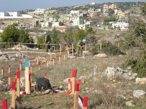 Brigata Pinerolo_Sminamento corridoi in Libano_1