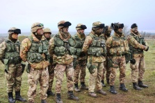 """Esercitazione """"Marmarica 2012"""", condotta dal Posto Comando della Brigata Meccanizzata """"Pinerolo"""" di Bari, dal 21° Reggimento Artiglieria """"Trieste"""" di Foggia presso il poligono di Torre di Nebbia 2"""