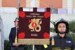 La Cerimonia della Santa Patrona, Santa Barbara ed i Vigili del Fuoco di Bari, nel 4 Dicembre 2012. Foto di Daniela De Chirico