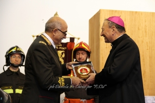 La Cerimonia della Santa Patrona, Santa Barbara ed i Vigili del Fuoco di Bari, nel 4 Dicembre 2012 Foto di Daniela De Chirico