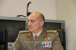 """Col. Emilio Motolesse Vice Comandante della Brigata Meccanizzata """"Pinerolo"""", presso la Caserma """"Picca"""""""