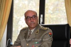 Ten. Col. Salvatore Ricciato del 10° Reggimento Trasporti,