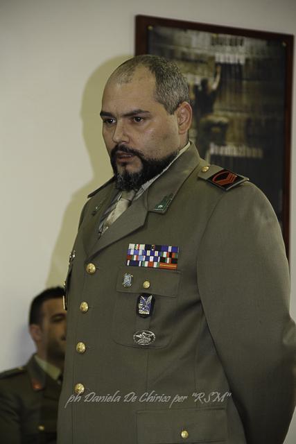 Il caporale volontario con 12 missioni militari.