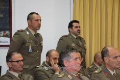 Alcuni militari rientrati dalle Missioni