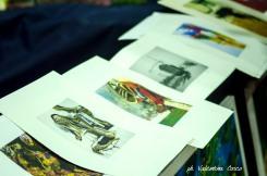 Alcune delle opere sequestrate. Ph. Valentina Cosco
