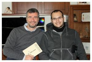 Francesco Tuan con Luca Barisonzi