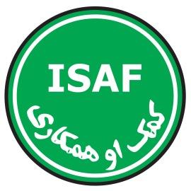 """Logo della Missione Internazionale """"ISAF"""""""