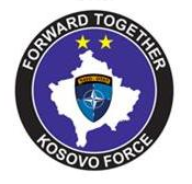 Logo Kosovo Force - Forward Together
