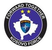 Logo Kosovo Force - Forward Together