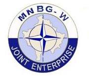 Logo del Multi National Battle Group West - Joint Enterprice