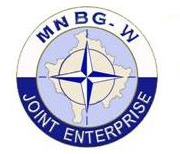 Logo del Multi National Battle Group West - Joint Enterprice