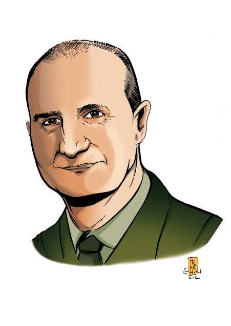 Il personaggio del primo Fumetto Militare Italiano con il viso del Gen. D. Paolo Serra