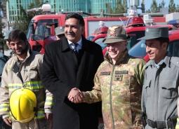 inaugurazione caserma Vigili del fuoco Herat (1)