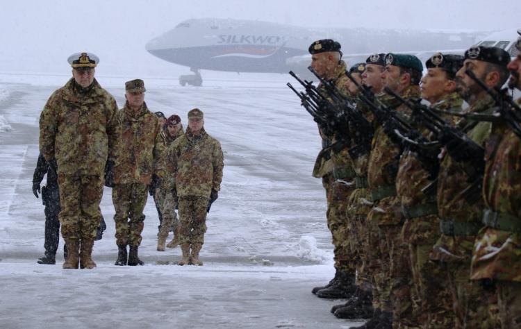 Onori al Capo di Stato Maggiore Difesa