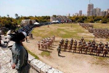 Brigata Pinerolo_Cerimonia Medal Parade in Libano_2