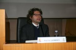 Prof. Nicolò Carnimeo dell'Università di Bari.
