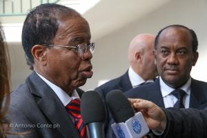 S.E. Nur Hassan Hussein, Ambasciatore Somalo